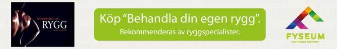 """Köp """"Behandla din egen rygg"""" hos Fyseum.se"""