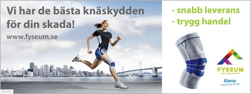 Utvalda funktionella knäskydd köper du hos Fyseum.se