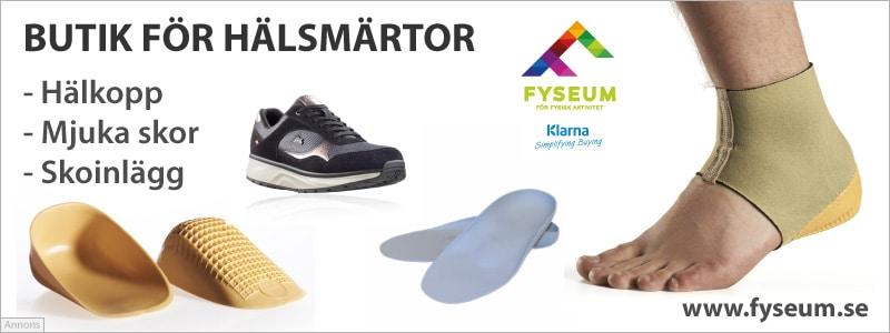 Köp specialinlägg för hälsmärta hos Fyseum.se