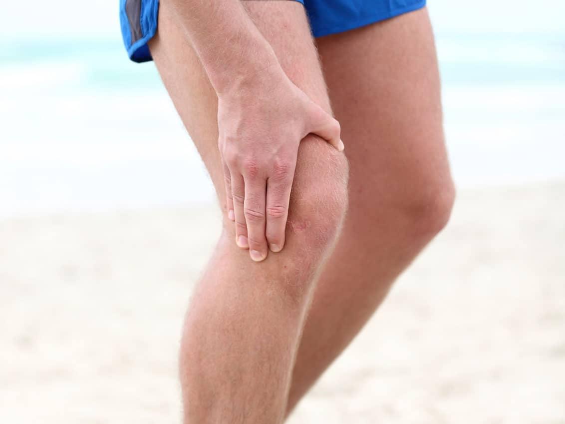 ont i båda knäna
