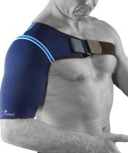 Värmande axelskydd vid ont i axeln