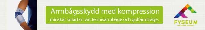 Köp specialstickat kompressionsskydd för armbågen hos Fyseum.se