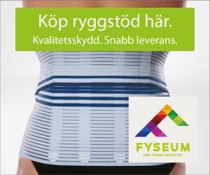 Köp ryggstöd hos Fyseum.se