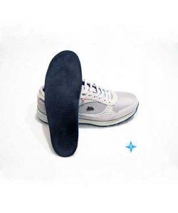 Ortopediskt individuellt format skoinlägg för häl, hålfot och fot