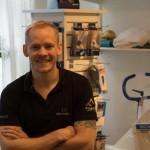 Mikael Boije af Gennäs, fysioterapeut, Göteborg