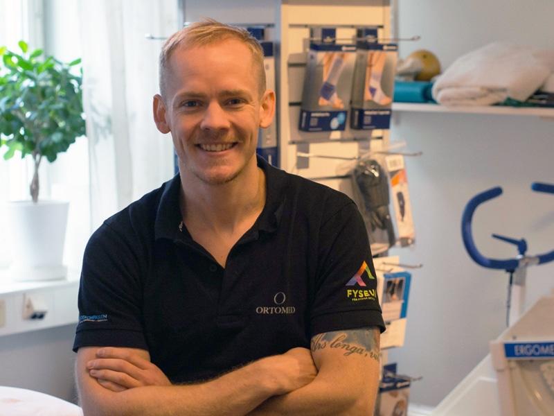 Fysioterapeut i Kista, Stockholm Mikael Boije av Gennäs