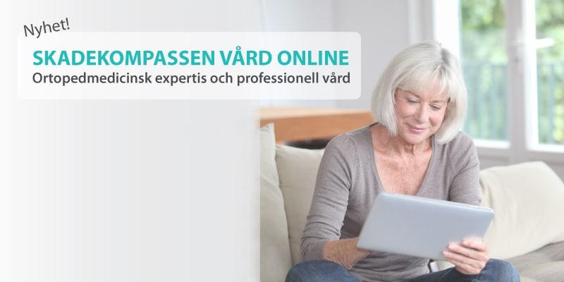 Vård online - Få hjälp av ortopedmedicinskt specialiserad vårdgivare - fysioterapeut, sjukgymnast, läkare