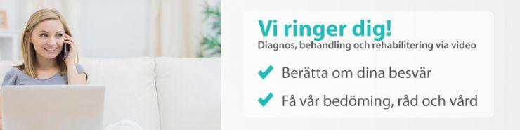 Råd och vård online av fysioterapeut, sjukgymnast, läkare, ortoped, psykolog