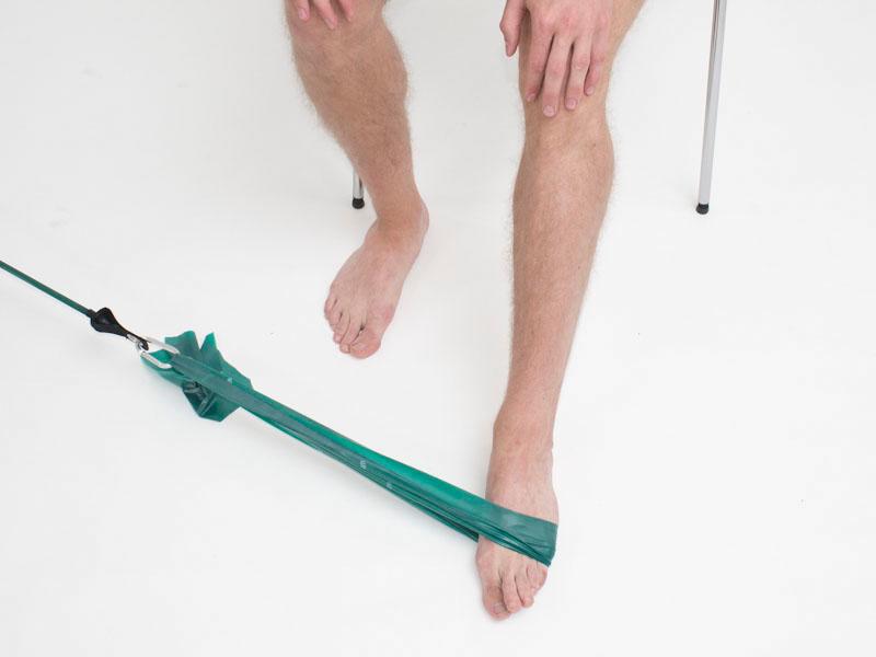 Övning för eversion av foten 2 av 2