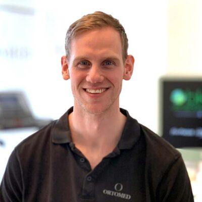 Fysioterapeut Markus Staaf i Göteborg