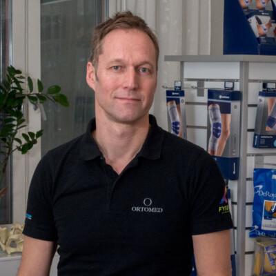 Rickard Järrebring, fysioterapeut hos Ortomed Göteborg