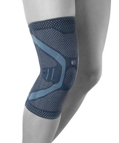 Elastiskt knäskydd för bra komfort och stöd av knät.