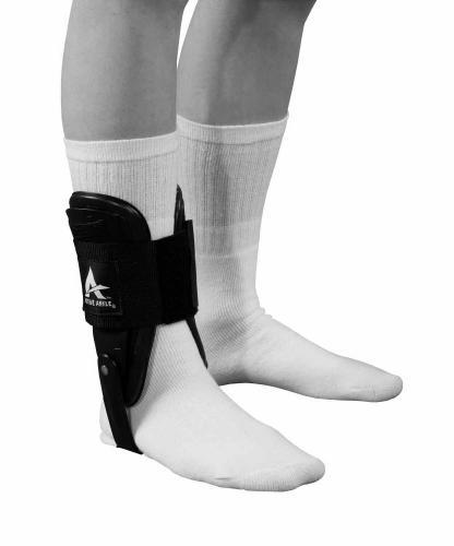 Fotledsskydd som tillåter rörlighet men ger stöd av fotleden i idrott