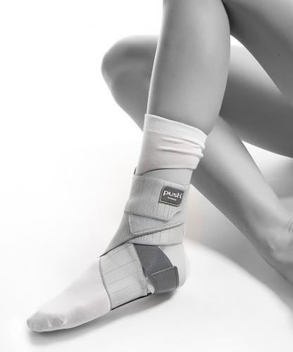 Fotledsskydd A Flex är tunt, smidigt och stabilt vid fotledsskada