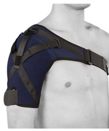 Axelskydd Stabil med stumma stabiliserande band