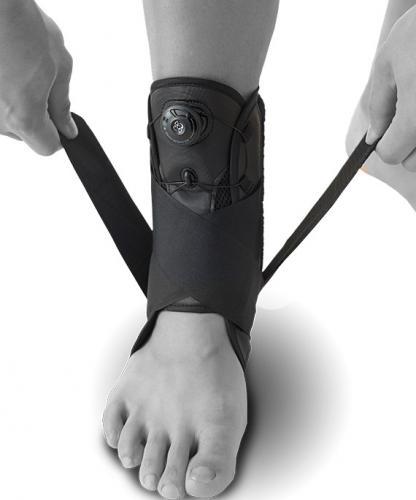 Fotledsskydd BOA vid stukad fot
