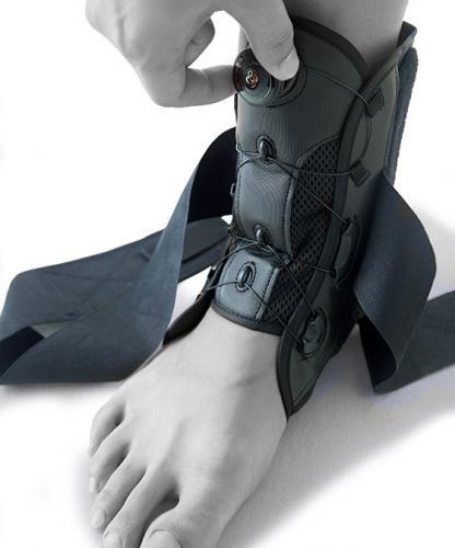 Fotledsskydd BOA med enkelt knäppning