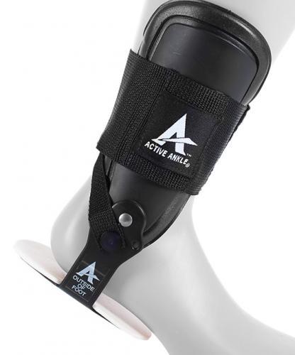 Fotledsskydd som tillåter rörelse men ger stöd av fotleden i idrott
