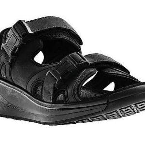 Joya Capri Black mjuk herr sandal