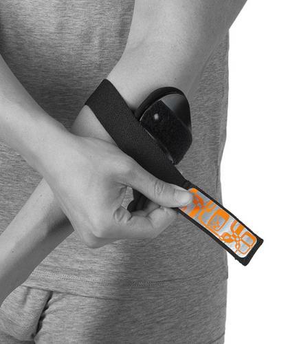Armbågsskydd vid ont och överbelastning av armbåge som tennisarm och golfarmbåge