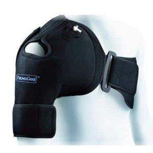 Axelskydd NovaCool med kyla och kompression vid ont i axeln och ac-led