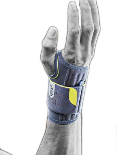 Handledsskydd med öppen hand för padel, tennis, golf