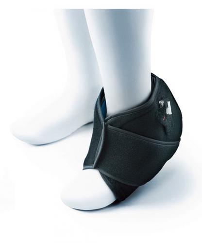 Kompression, kyla och fotledsskydd NovaCool vid skada och smärta i fot och fotled