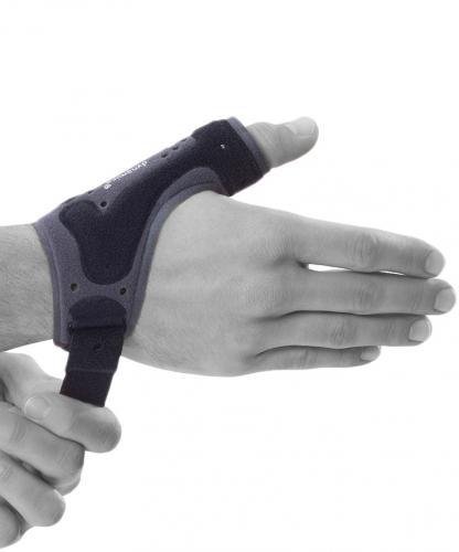 Tumskydd för ledbandsskada