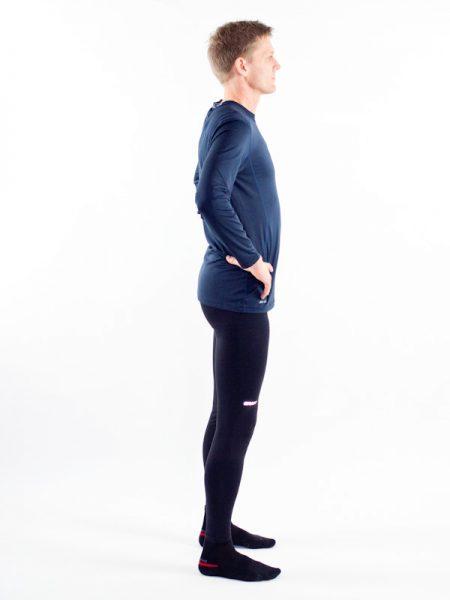 Knäböj, squat, på två ben